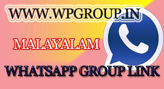 MALAYALAM whatsapp group link - WP Groups