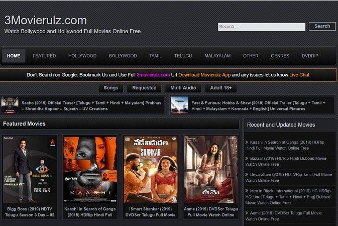 MovieRulz – Download Telugu, Bollywood & Hollywood Movies Online